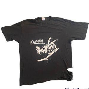 Authentic vintage Kashtin concert shirt